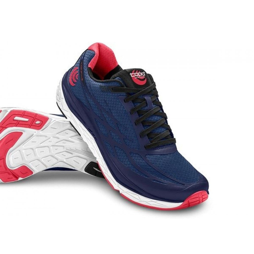 TOPO ATHLETIC MAGNIFLY2  Navy/Pink